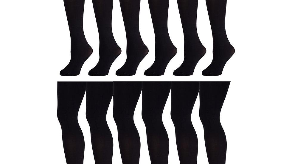Black medium microfiber support CT 60D tights