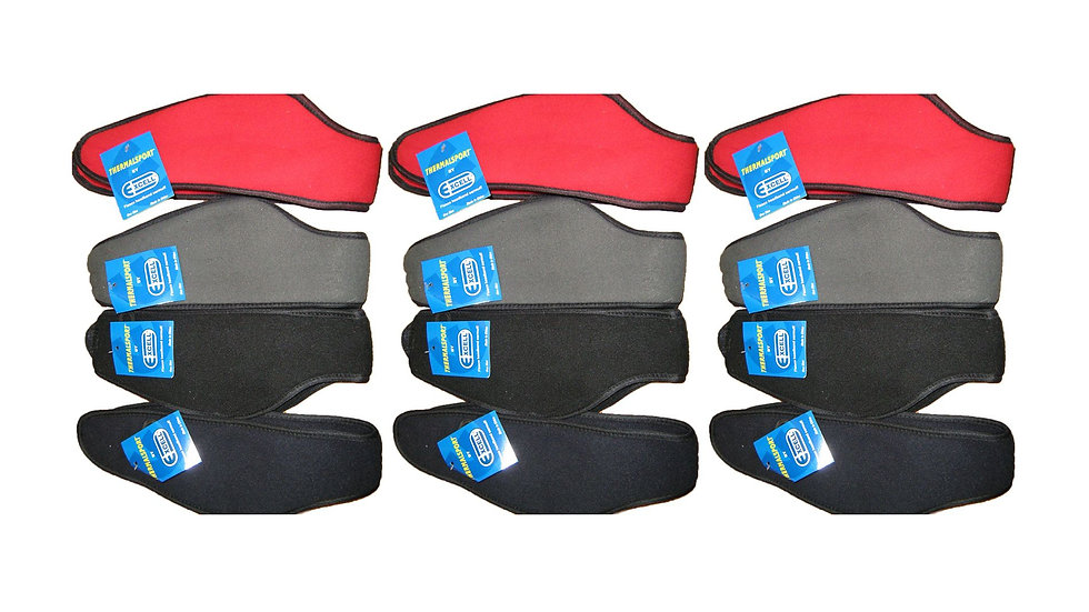 Assorted Colors one size fits all fleece headbands