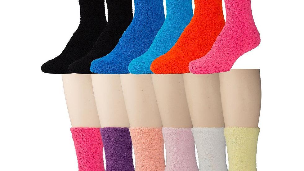 Assorted Colors soft socks