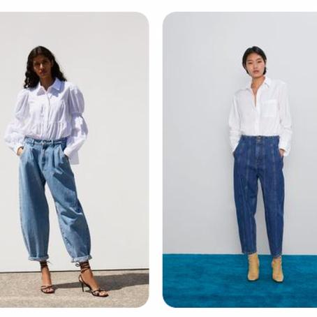 El corte de jean de moda para este invierno.