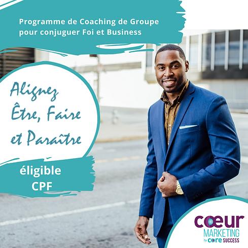 CoreSuccess-programme Alignez etre, fair