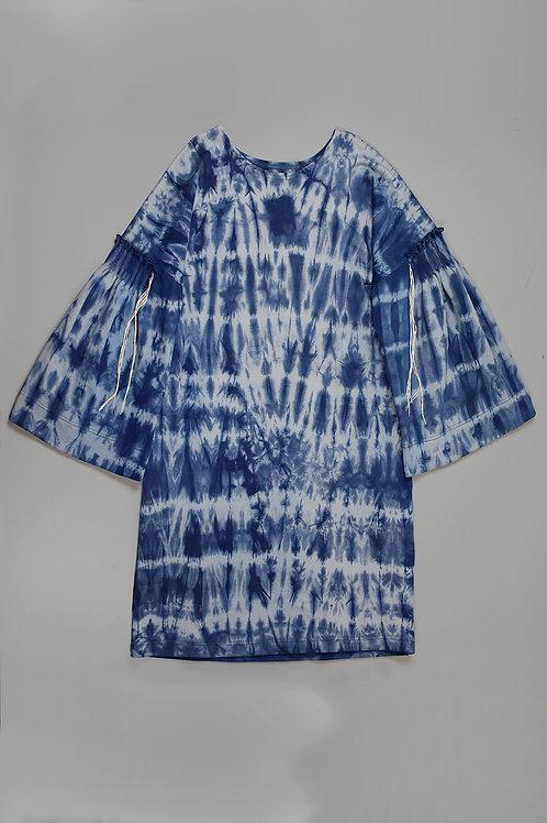 DRESS ARENNE BATIQUE BLUE