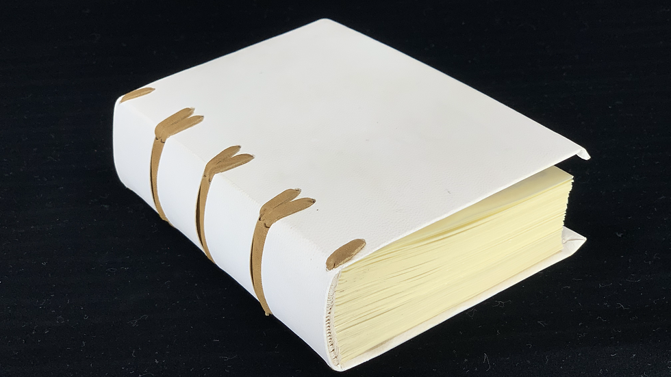 Limp Vellum Binding medieval style books