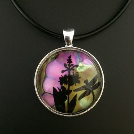 """Fireweed"" tiny art"