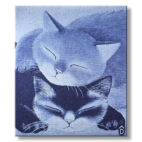 Canvas Cat Denim by DecoNIM