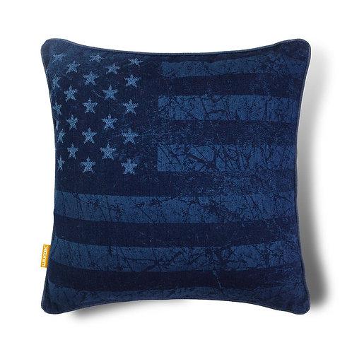 Flag USA Indigo