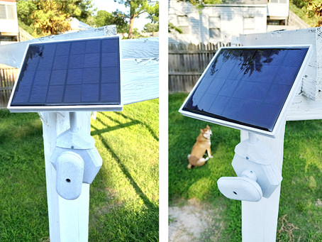 Coming Soon: Solar-Powered Security Camera and Securing Your Home Security System