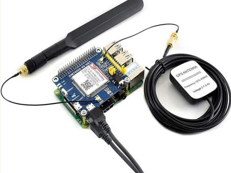 Waveshare SIM7600G-H 4G HAT Modem for Raspberry Pi Setup