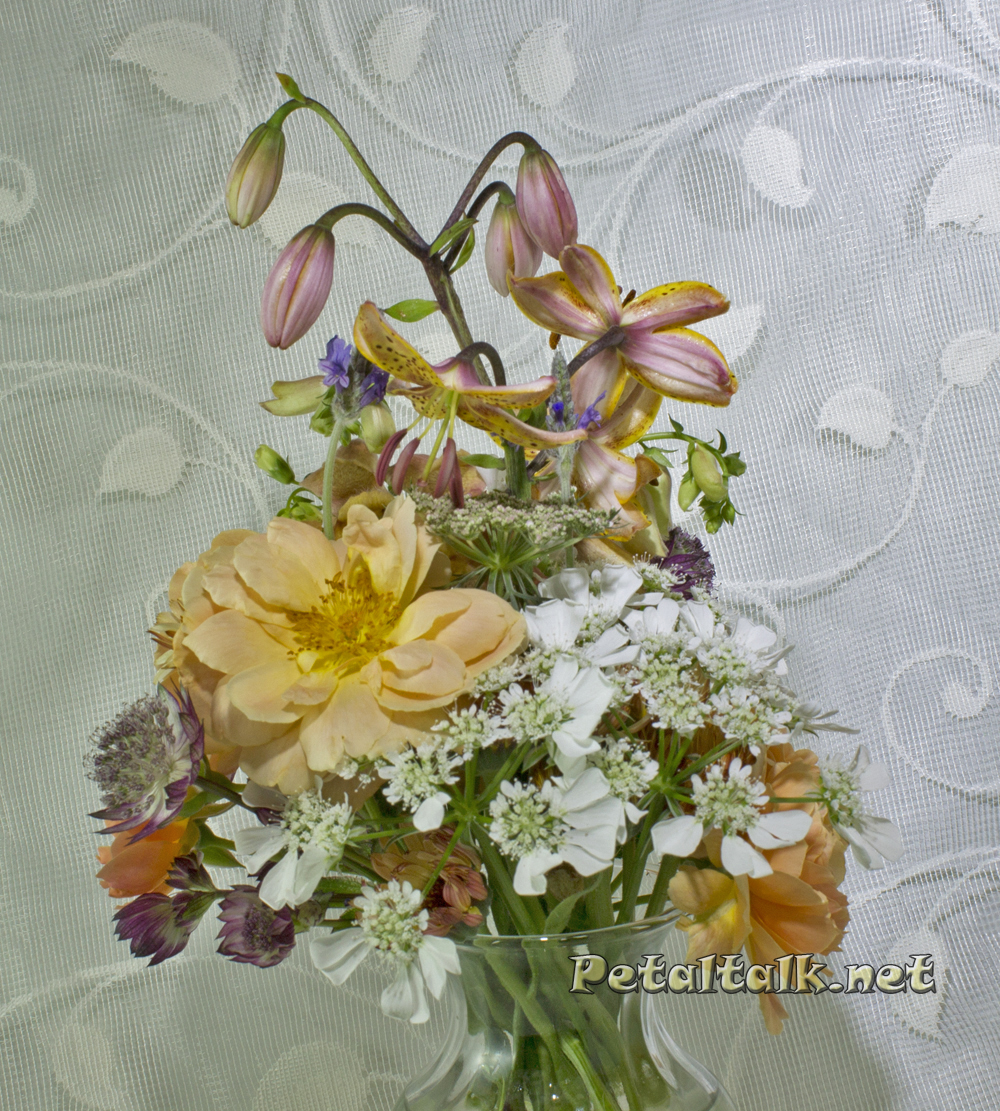 Martagon lily bouquet