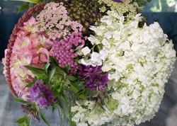 Hydrangea Yarrow bouquet