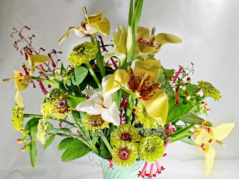 Tigridia bouquet