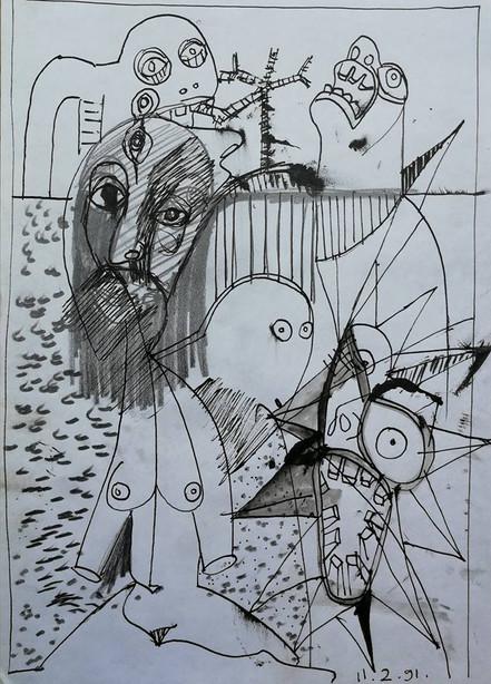 Pencil Drawings No7