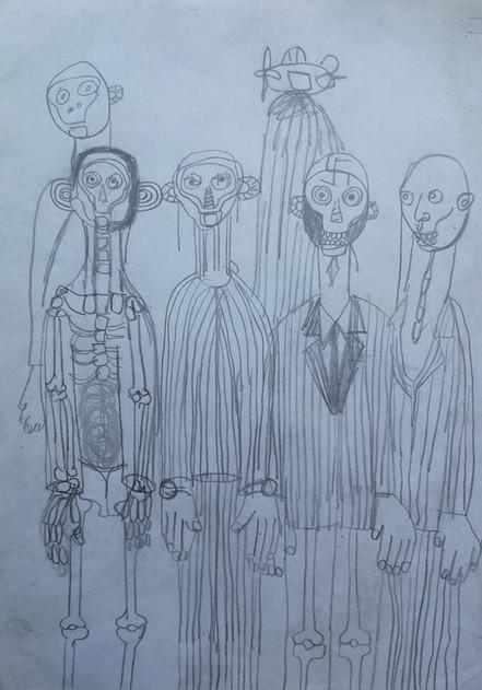 Pencil Drawings No1