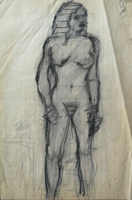 Standing Nude 1982