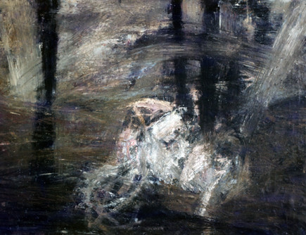 15. Lovers in Tempest. Oil on canvas. 60_ X 72_. 1984. .jpg