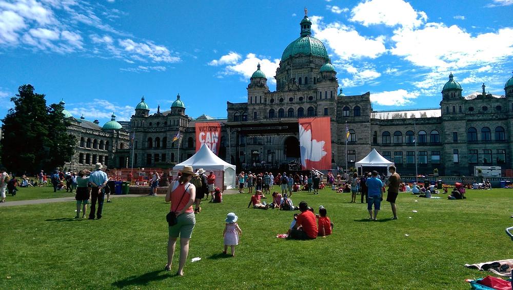 BC Legislature Buildings Victoria BC
