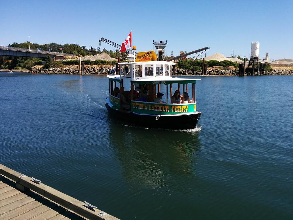 Water taxi Victoria British Columbia