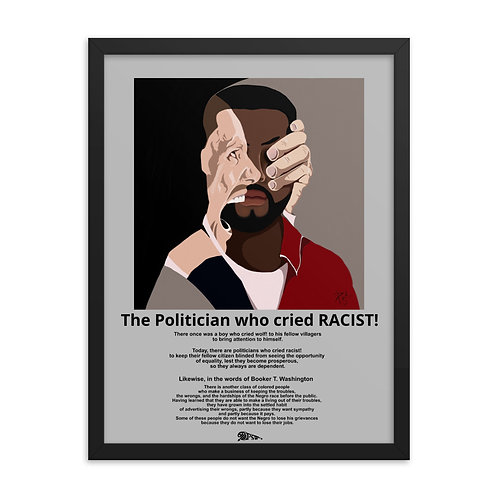 The Politician who cried RACIST!