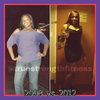 My client Alicia's before and after pics! Life is too short to look in the mirror and not love what
