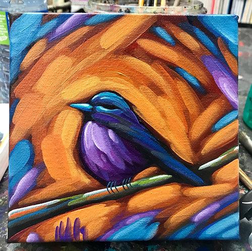 Bird 40 6x6inches