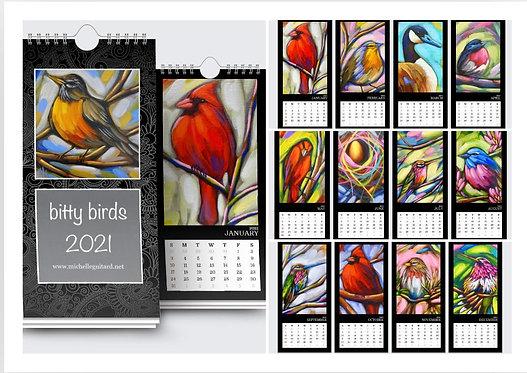 bitty bird calendar