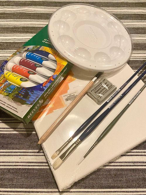 ART KIT FOR ZOOM CLASS