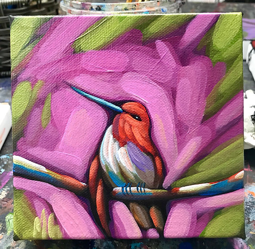 Bird 37 6x6inches