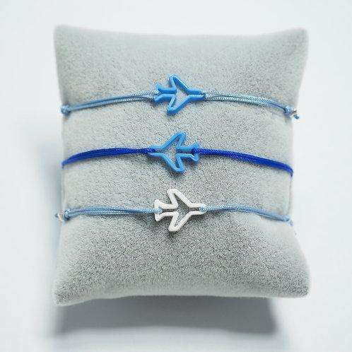 Flugzeug Armband - Blue Collection