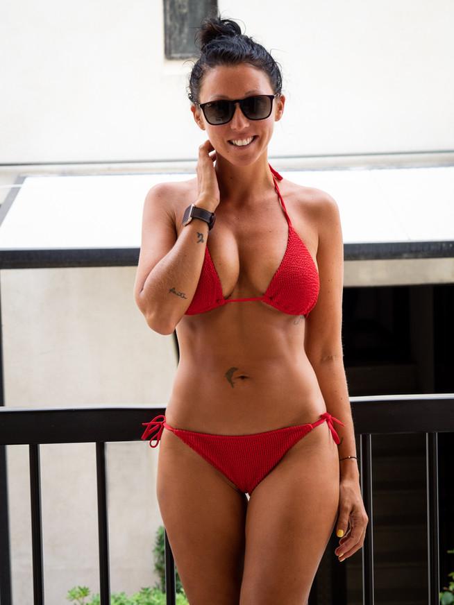 Red Calzedonia Bikini