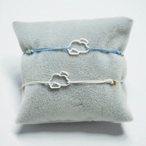 Wolken Armband - Airplane collection