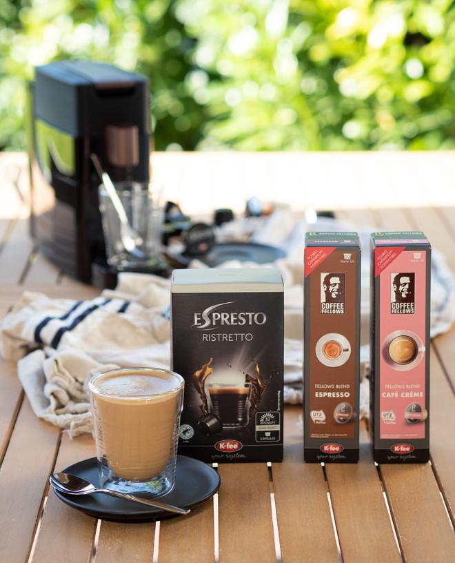 Kaffeegenuss mit K-fee