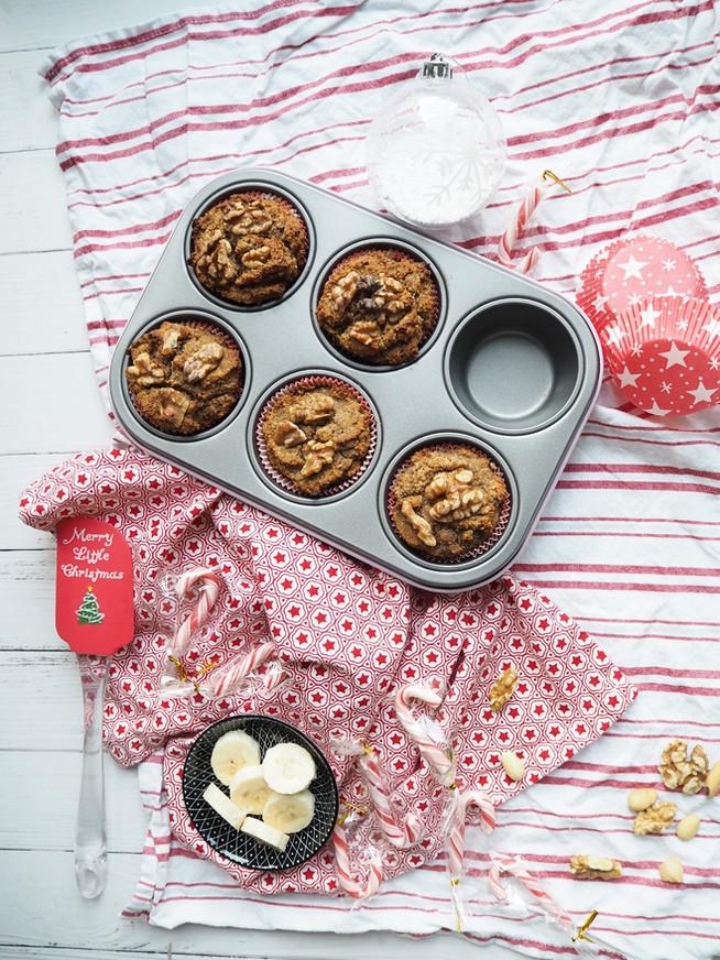 Walnuss Banane Muffins