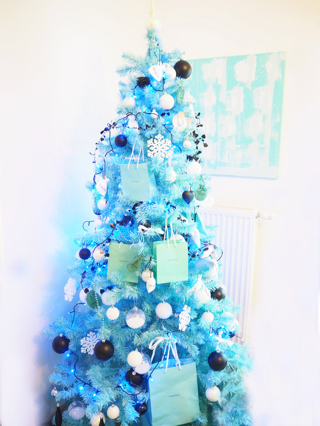 Mein Tiffany and Co Christbaum