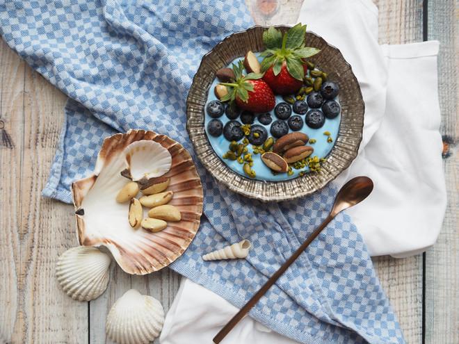 Meerjungfrau Fruchte-bowl