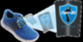Top of foot shoe insert
