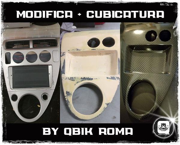 QBIK ROMA | Modifica + Cubicatura |