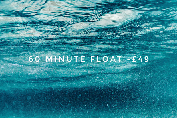 60 Minute Float Session Price