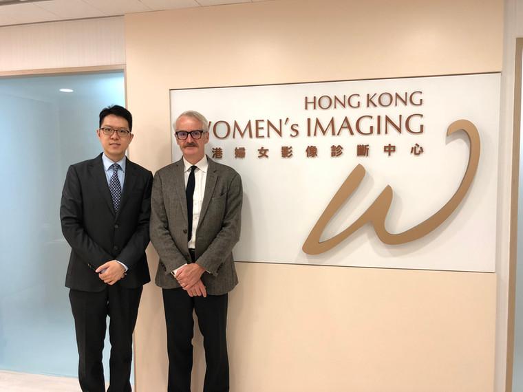 Prof. Patrick Brennan, Professor Diagnostic Imaging, Associate Dean International, The University of Sydney visiting HKWI on 2 Apr 2019