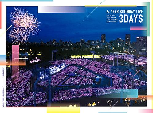 乃木坂46 6th YEAR BIRTHDAY LIVE (完全生産限定盤) (A5サイズクリアファイル(ラムタラ絵柄)付) [Blu-ray]