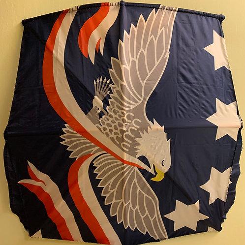 American Eagle Fabric Flag Kite