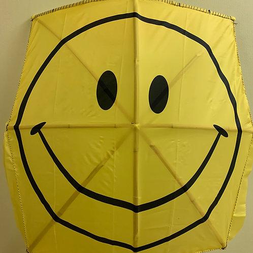 Smiley Fabric Flag Kite