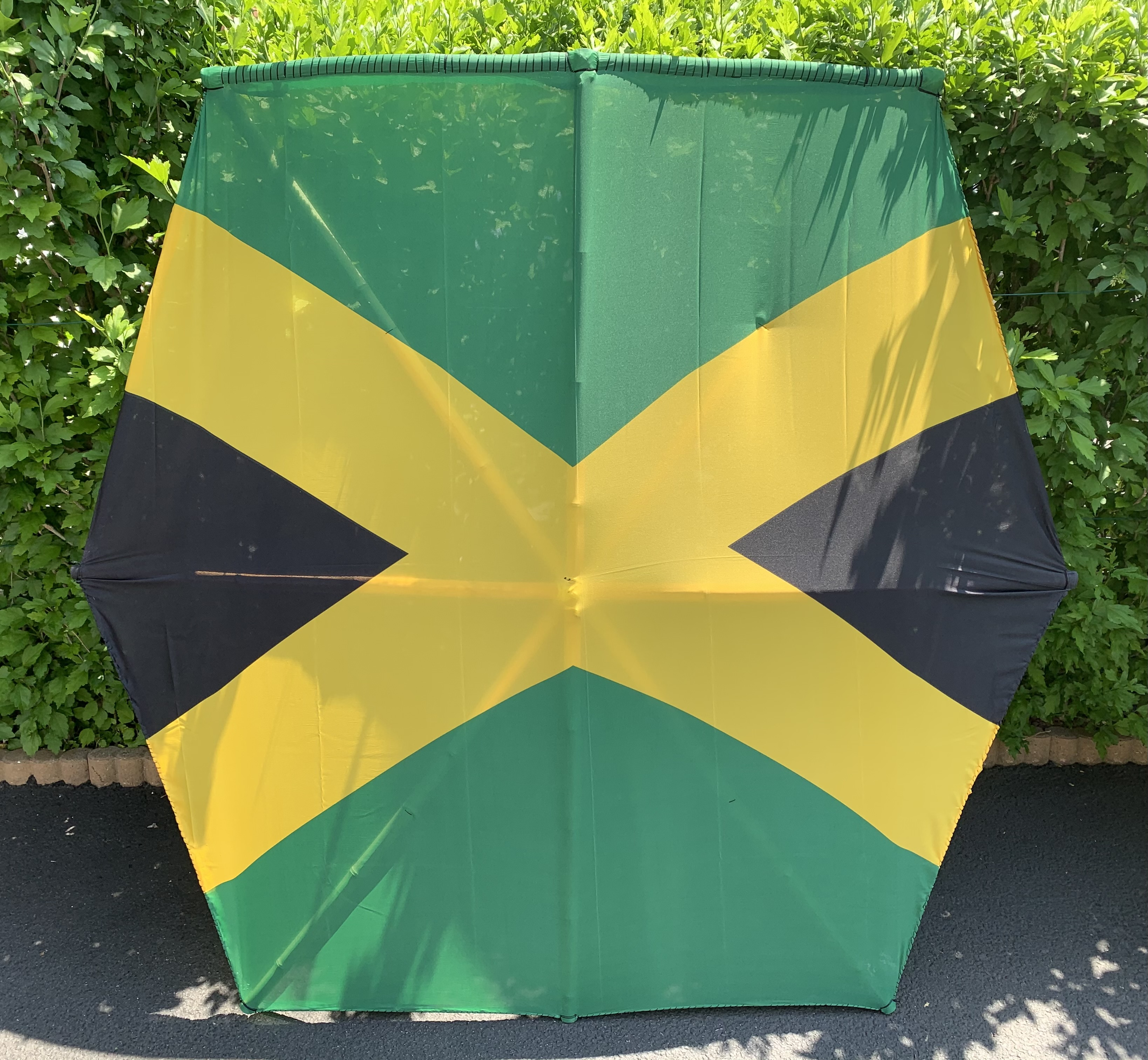 5 feet jamaican flag kite