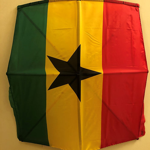 Ghana Fabric Flag Kite
