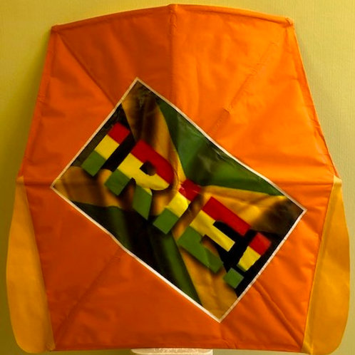 """IRIE FLAG"" in orange"