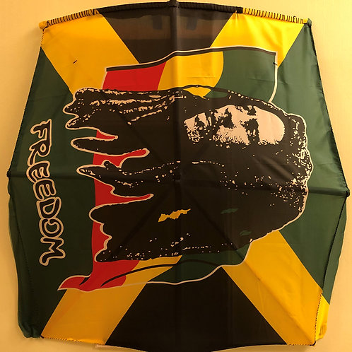 Marley Rasta Freedom Fabric Flag Kite type B