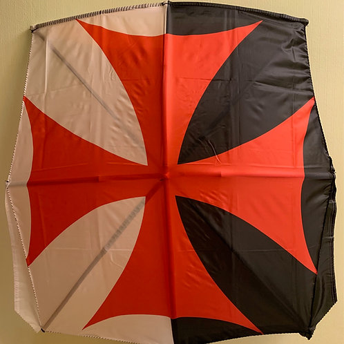 Knights templar cross Flag Kite