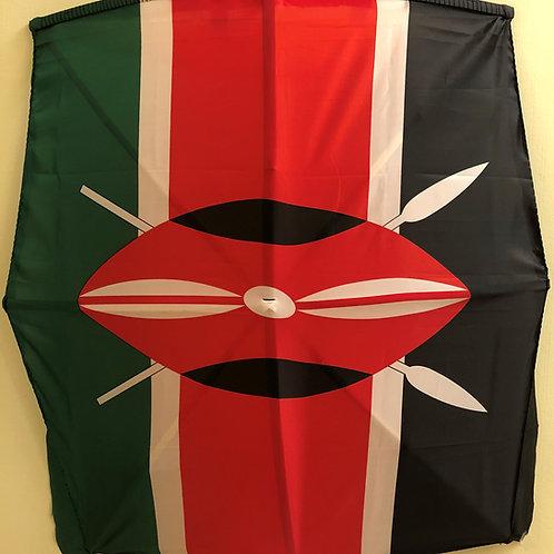 Kenya Fabric Flag Kite