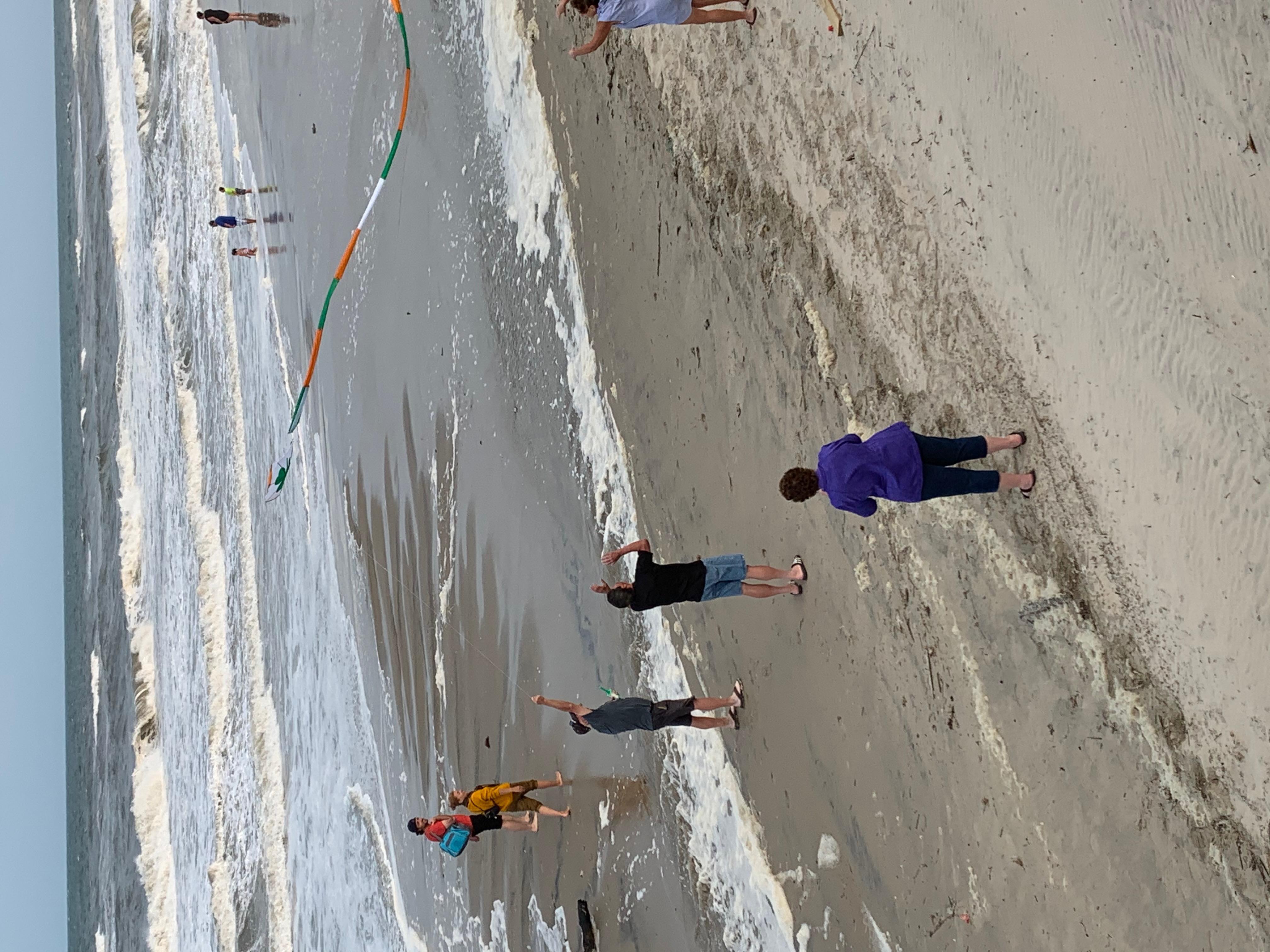 Flyringokite beach4