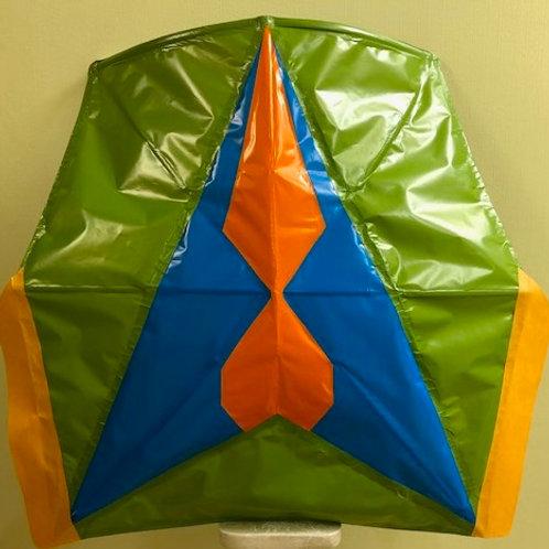 Rocket Style green blue orange