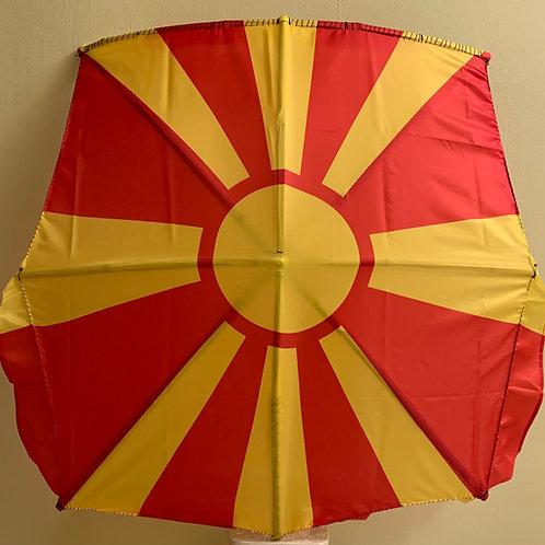 Macedonia Sun Flag Kite